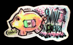 MTS - Swine Flu Mexican Piggy by MVRH