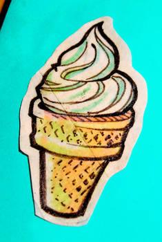 MTS - Vanilla IceCream Cone