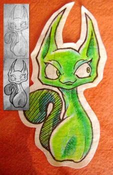 MTS - Green Cat + Steps