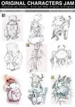 JAM - Original Characters