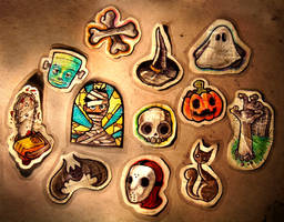 MTS - Halloween Series by MVRH