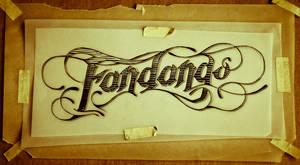 Tattoo Script - Fandango by MVRH