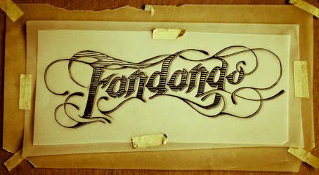 Tattoo Script - Fandango