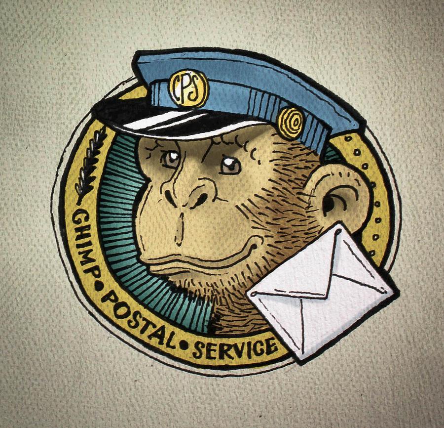 Fasties: Chimp Postal Service by MVRH