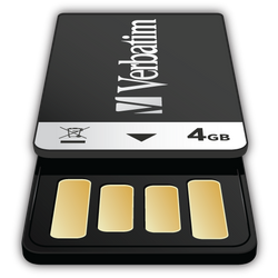 Verbatim Clip-it 4GB - Icon by MVRH