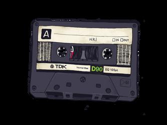 TDK D90 Cassette by MVRH