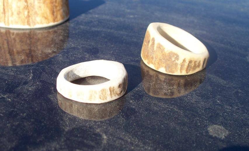 Deer Antler Rings by MinotaurQueen on DeviantArt