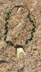 Forked Antler Point Necklace