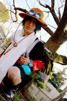 Ace in ARABASTA by YUZU-0u0