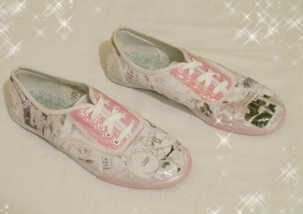 Sailor Moon shoes by ShopFantasy