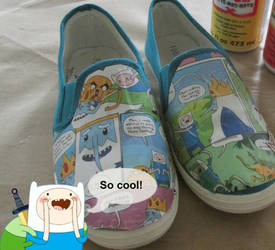 Adventure Time shoes by ShopFantasy