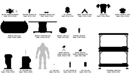 Halo Universe: Size Comparison