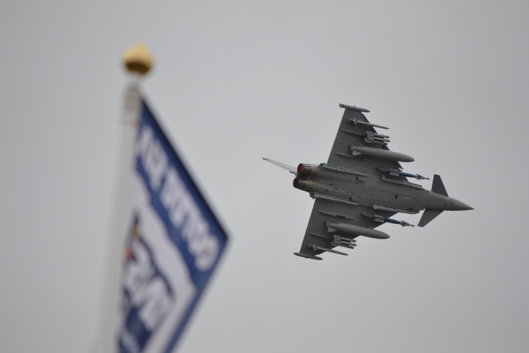 RAF Typhoon RIAT 2016 by White0222