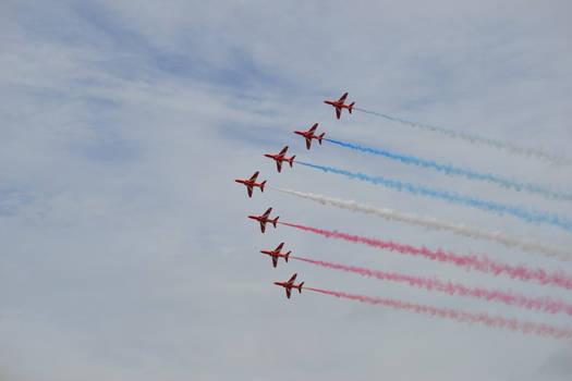 RAF Red Arrows RIAT 2016