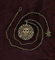 my pirate medallion by agirlnamedshemus