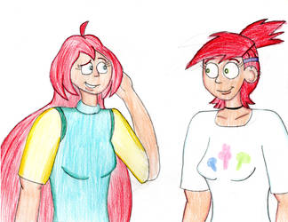 Bloom Meets Frankie Foster by TrainsAndCartoons