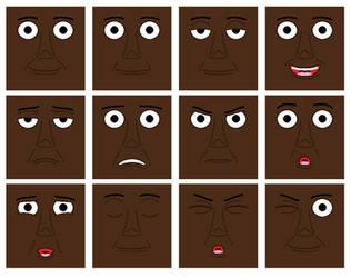 Slip Coach 3 (Brunell) Faces (Digital) by TrainsAndCartoons