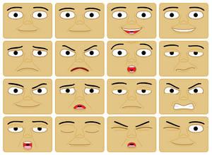 Geoff Faces (Digital)