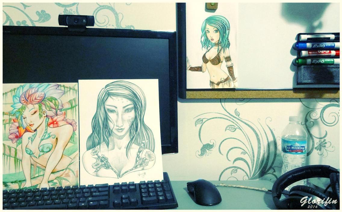 Work Space by Glorifin