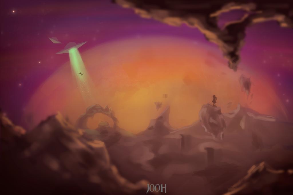 Mars by Jooh-fu