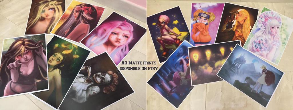 A3 Prints on Etsy by Jooh-fu