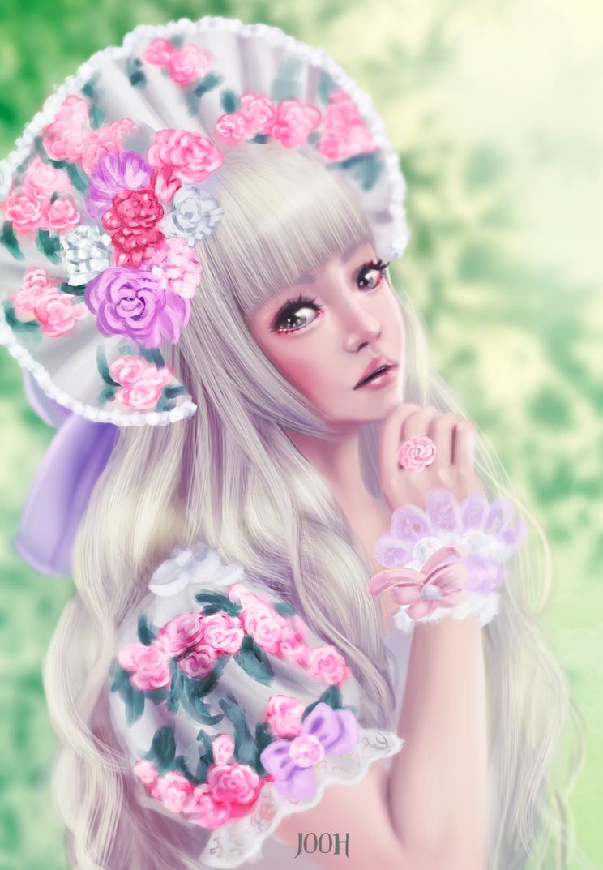 Kiyohari portrait study by Jooh-fu