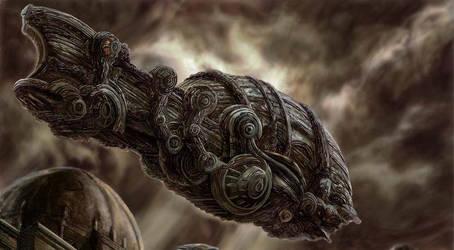 NAVIO AEREO REDERPG by octopusdesenhos