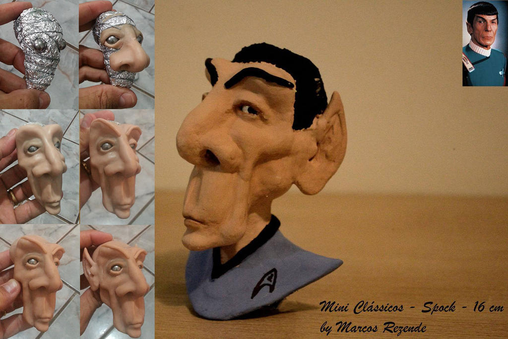 Spock by x-culptor