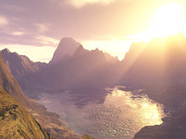 Mountain Lake 2 by KSXZT