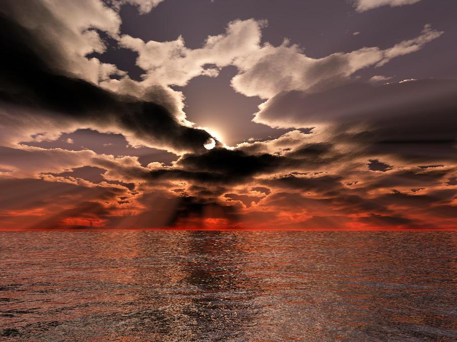 Pyro Sunset by KSXZT