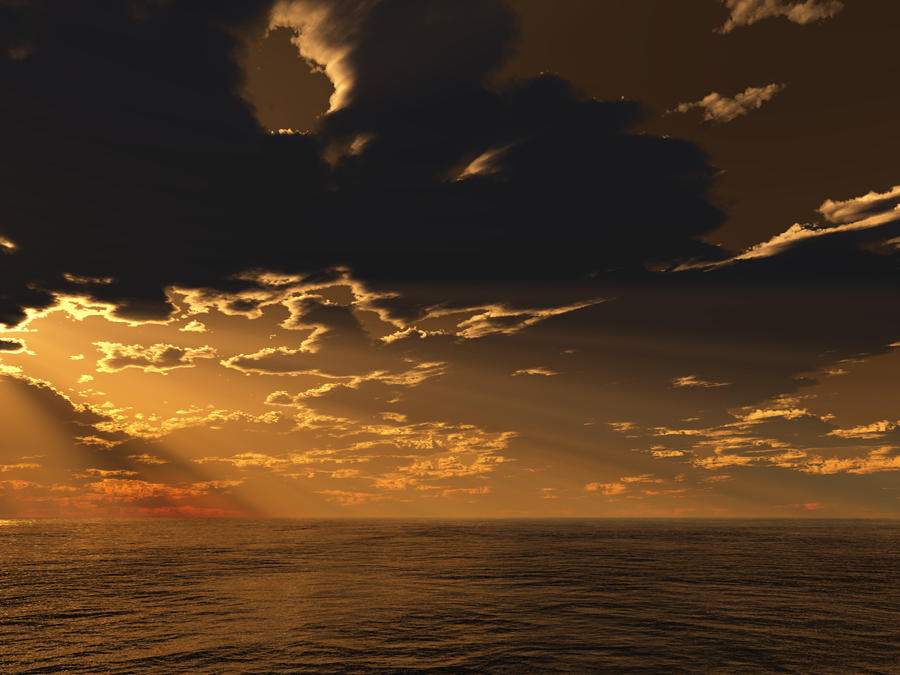 Lonely Ocean 2b by KSXZT