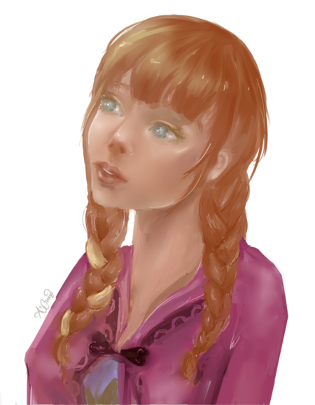 Anna of Arendelle by Jousan