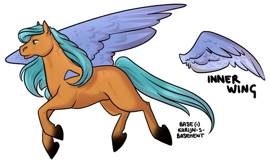 chibi pegasus adoptable closed by adopts only on deviantart