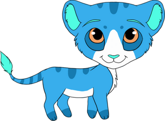 Chibi Lion Cub - Draw To Adopt (Closed) by Adopts-Only
