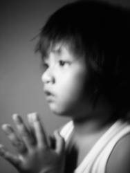 Portrait of a Young Child 2 by lonelyghost