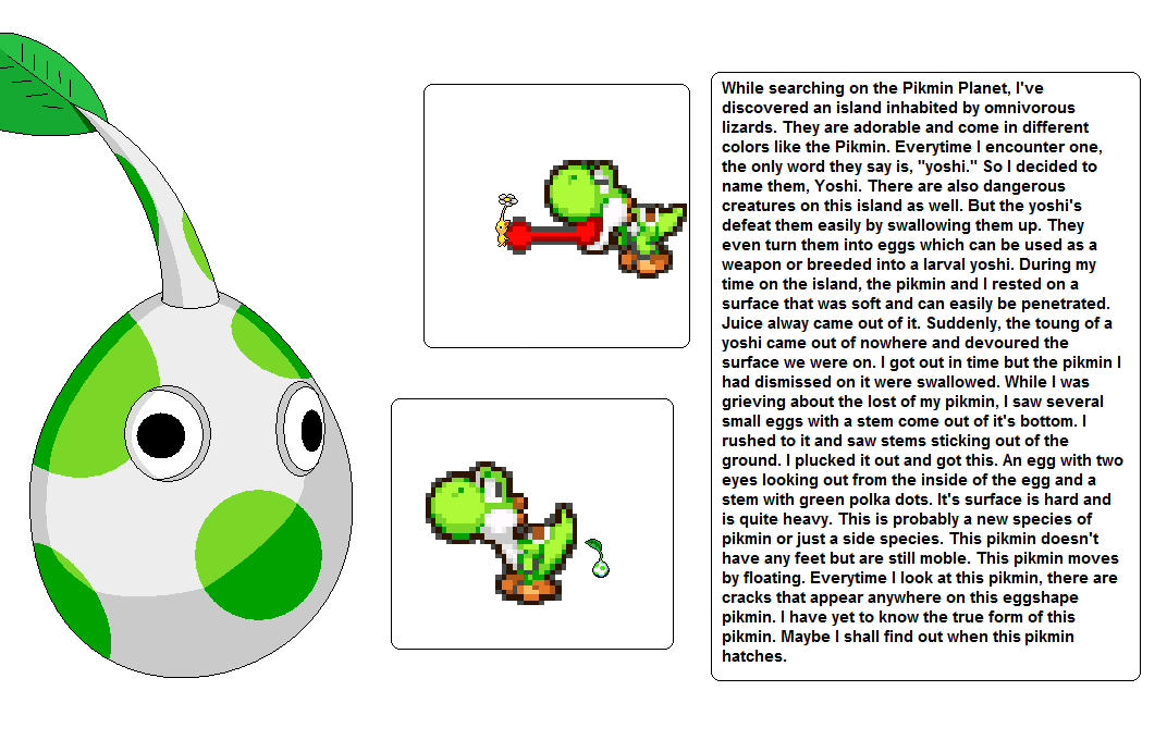 Shell Pikmin 1st Form By Nintendo128 On Deviantart