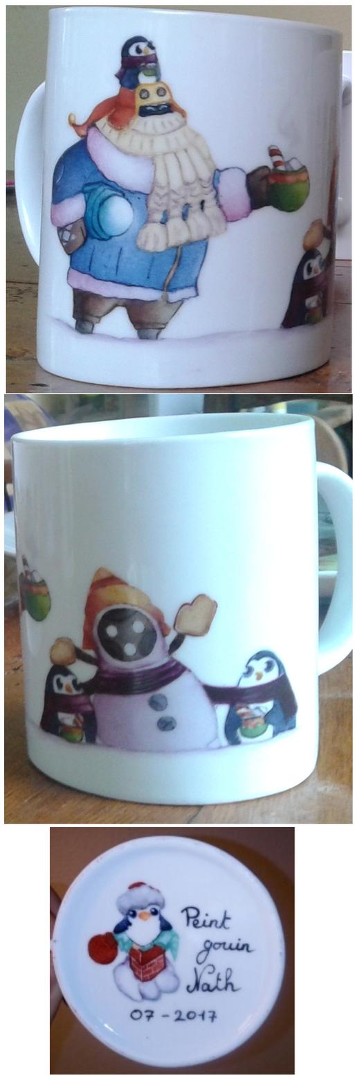 Snowday mug by Nasthale