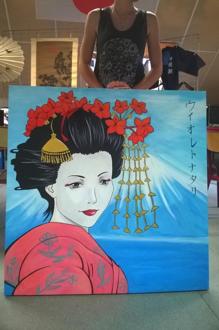 Geisha commission by Nasthale