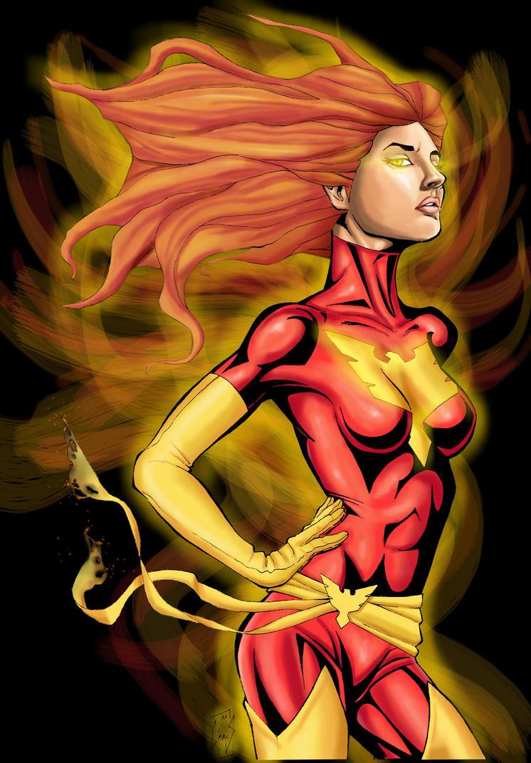 Dark Phoenix Fninal version by Spidertof