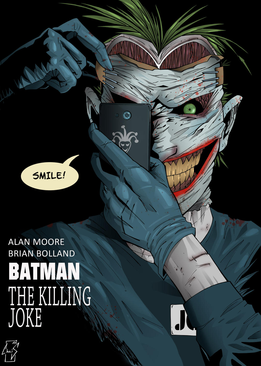 The Killing Joke new 52 by Spidertof