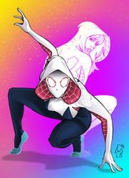 SpiderGwen by Spidertof