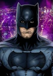 Batman - DCEU suit by Spidertof