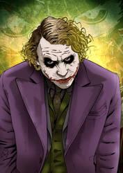 The Joker by Spidertof