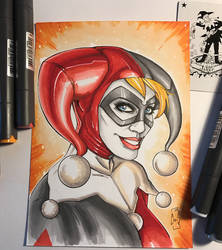 Harley Quinn - Markers