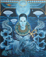BLUE ISIS by sami-edelstein