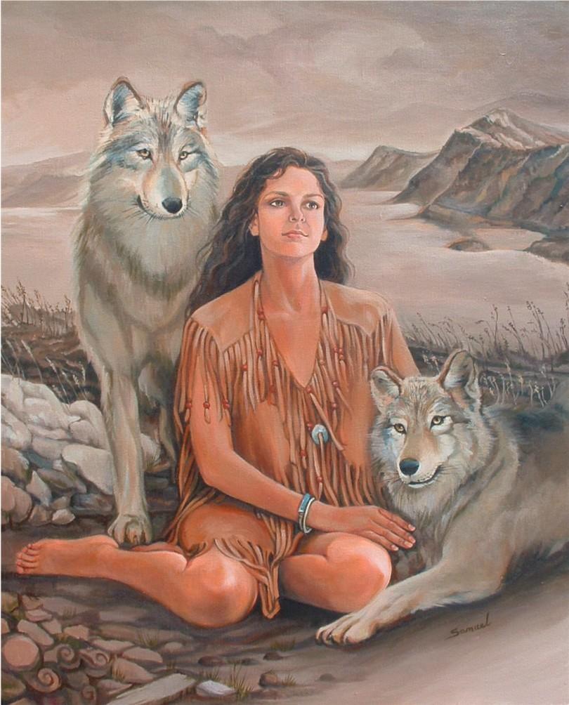 Wolves Girls And Wolf Girl: Wolf Girl By Sami-edelstein On DeviantArt