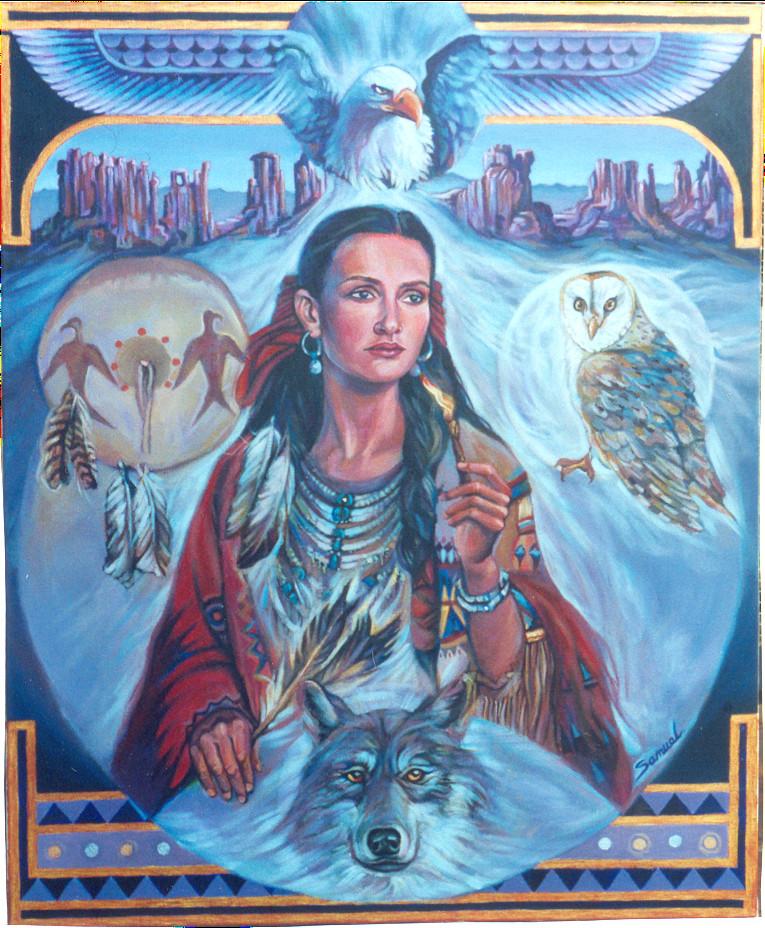Indian Girl by sami-edelstein