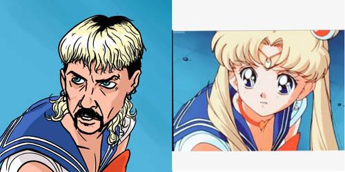 Tiger King/Sailor Moon