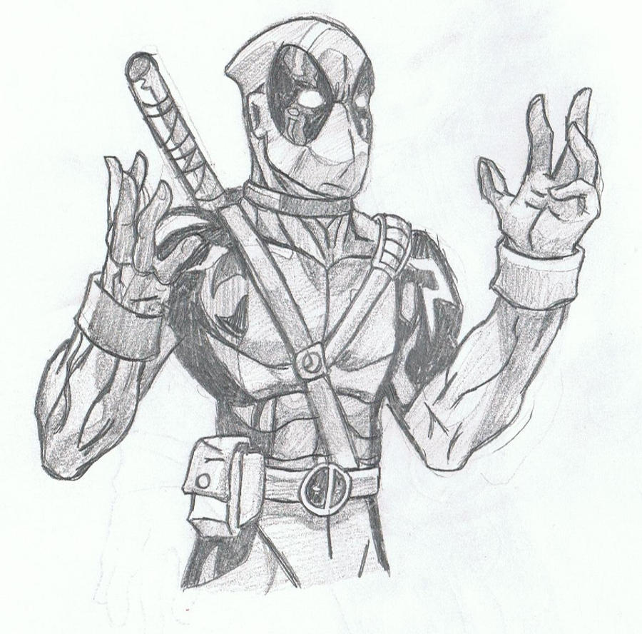Deadpool By Cosmodious On DeviantArt