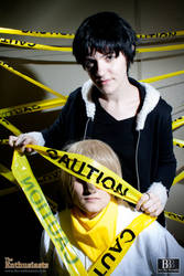 DRRR: CAUTION by BeautifulByeBye
